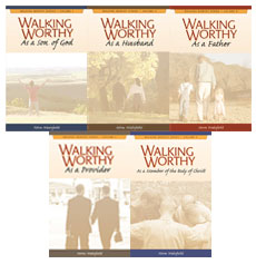 Walking Worthy Series for Men